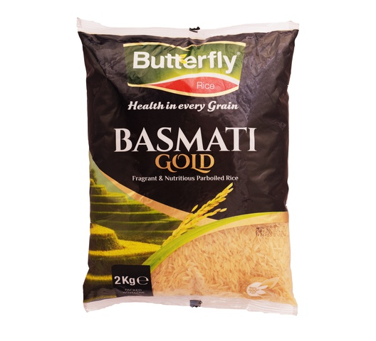 Butterfly Rice - Basmati Gold 2Kg