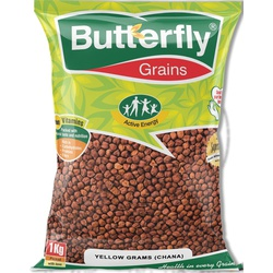 Butterfly Yellow Grams (Chana) 1Kg