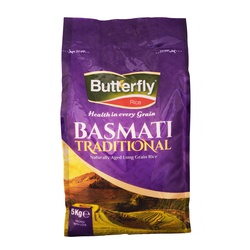Butterfly Rice - Basmati Traditional 5Kg