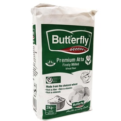 Atta Butterfly White