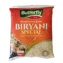Butterfly Rice - Biryani Special