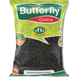 Butterfly Black Grams (Urad) 1Kg