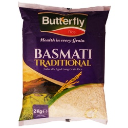 Butterfly Rice - Basmati Traditional 2Kg
