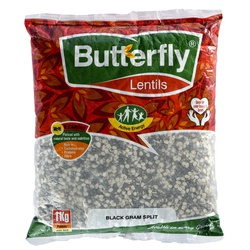 Butterfly Black Gram Split 1Kg