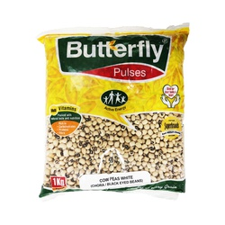 Butterfly Cow Peas White (Chora Beans) 1Kg