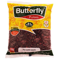 Butterfly Red Kidney Beans 1Kg