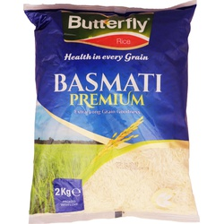 Butterfly Rice - Basmati Premium 2Kg