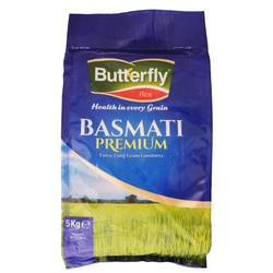 Butterfly Rice - Basmati Premium 5Kg
