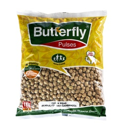 Butterfly Chick Peas (Kabuli Chana/Garbanzo) 1 Kg