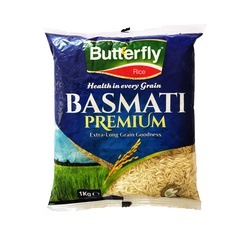 Butterfly Rice - Basmati Premium 1Kg
