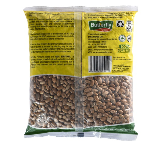Butterfly Pinto Beans (Mwittemania Beans) 1Kg