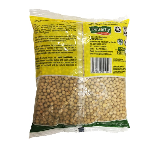 Butterfly Dried Peas Green (Matar) 1kg